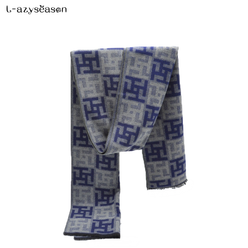 2018 hijab Men   Scarf   luxury brand designer unisex Classic Cashmere Winter Warm Soft Tassel fashion Shawl   Scarves     Wraps