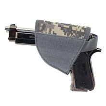 For 1 pcs New item Adjustable Tactical Velcro Hook Pistol ACU Holster Right Hand Hook Loop