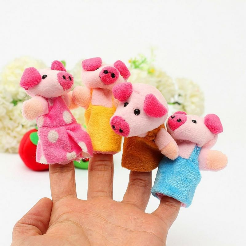 8pcsSet-Animal-Finger-Puppet-Plush-Toys-Cartoon-Lovely-Child-Baby-Favor-Doll-Kids-Gifts-Free-shipping-1