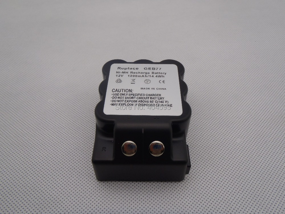 Geb77 Type compatible NiMH batterie pour leica station total 12 V 1200 mah