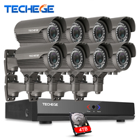 Full 8CH 1080P POE Kit 48V POE NVR 8PCS 2 0mp PoE IP Camera 2 8