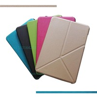 Ultrathin Fashion Deformation PU Leather Case For Xiaomi Mi Pad 2 3Cover Smart Stand Cover Mipad