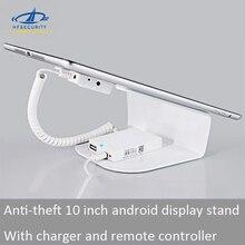 [Hfsecurity] 10 дюймовый планшет android сигнализация Дисплей с подставкой для мини-Зарядное Устройство удаленного Управление замки для Pad Дисплей стенд