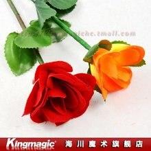 Складной выросли/появляются розы/Новая версия 24.5 см(красный) /фокусы/магия комплектов/магический реквизит/As Seen On TV/10 шт./лот
