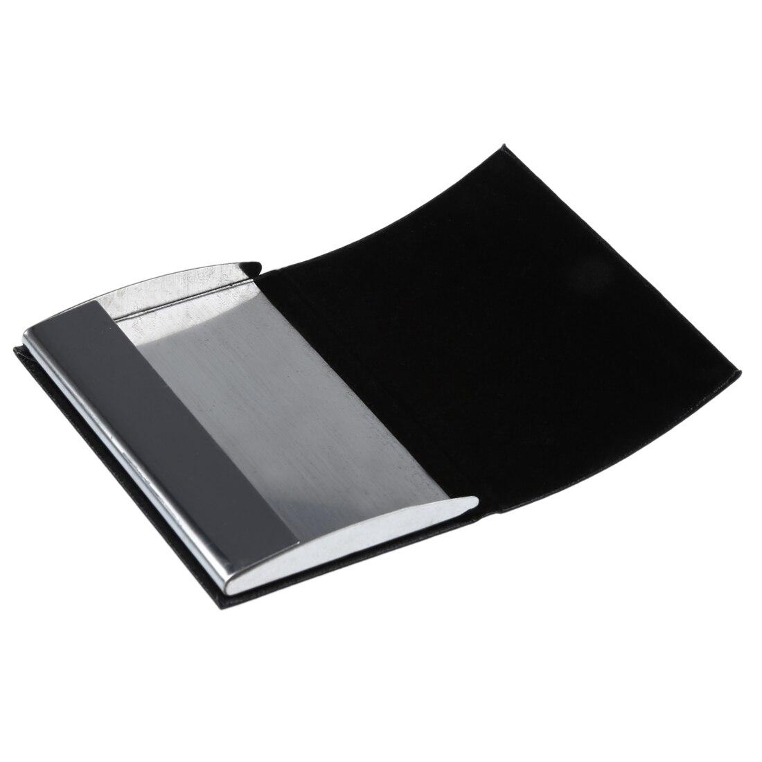 Wholesale Business Name Card Holder Case Organizer(Black)