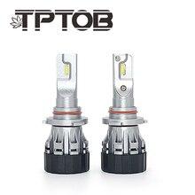 TPTOB Auto Headlight Bulb Kits Mini Size H7 LED H4 HB3 H11 H1 9005 Car Light H3 6000K 50W 10000LM Automobiles Headlamp Bul
