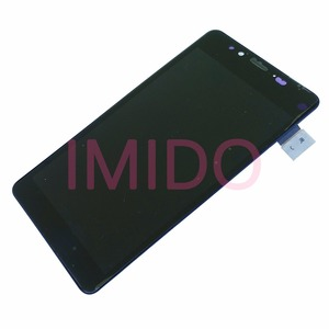Image 3 - עבור Nokia Lumia 950 RM 1104 RM 1118 LCD תצוגה + מסך מגע Digitizer עצרת + מסגרת החלפת חלקים