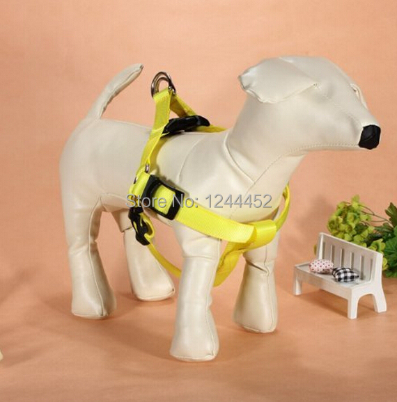 High Quality Safety Pet Dog Belt car Adjust light Outdoor walking Playing lead restraint Harness