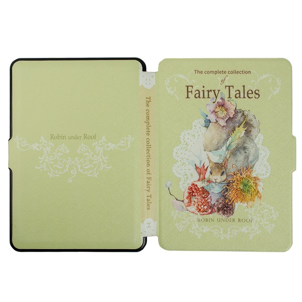 New Fairy Tales series printed leather cover case for amazon kindle paperwhite 1/2/3 ereader protective cover case+free gifts