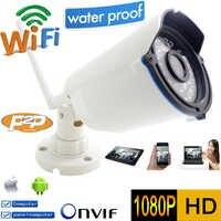 Wifi Ip Camera 1080p Full-HD CCTV Security Waterproof Wireless P2P Weatherproof Outdoor Infrared Mini Onvif IR Night Vision Cam