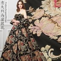 High Precision Jacquard Fashion Cloth Embossed European Court Wind Dress and Cheongsam Wedding Dress Fabric