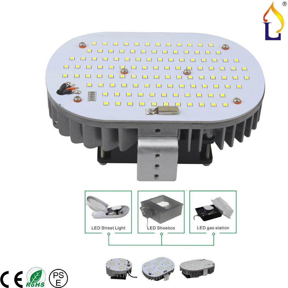 high brightness 100W 120W 150W Led retrofit kit Street Light Lamp AC110-277V Outdoor Lamp high power Meanwell Driver 6pcs/lot
