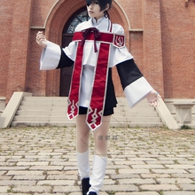Черный Дворецкий Kuroshitsuji Ciel Phantomhive Косплей Костюм церковный хор Униформа Костюмы+ кольцо костюмы на Хэллоуин для женщин/мужчин S-XL