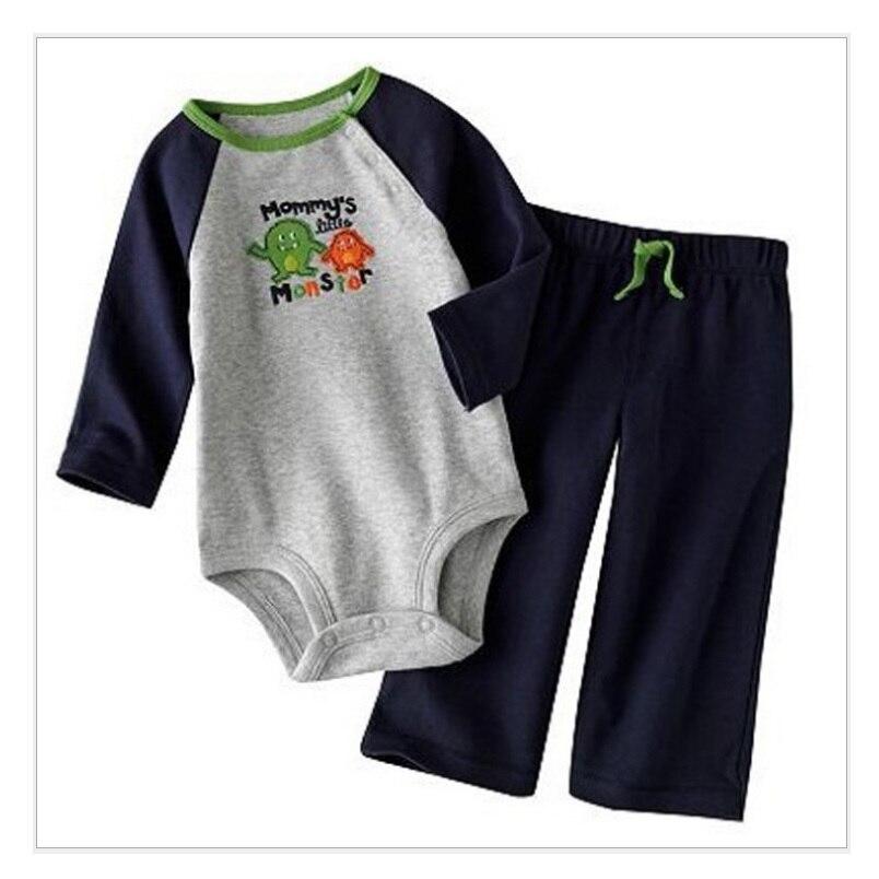 32113cf076a6d Pk Bazaar hooyi 2018 newborn 2018 baby boys clothing suit long in ...
