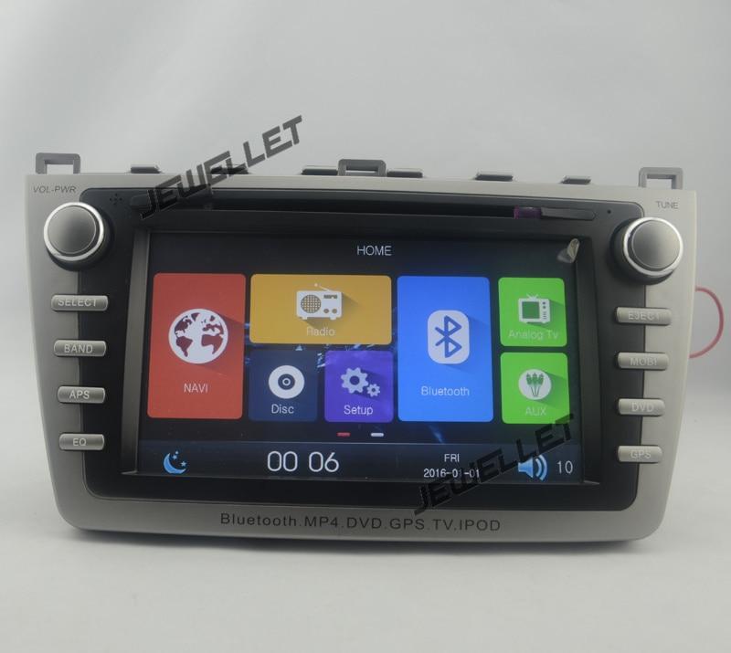 Car GPS radio navigation DVD for Mazda6 Mazda 6 (09 13