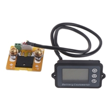 DC 8-80V 50A Battery Coulometer TK15 Professional Precision Battery Tester Coulomb Counter Coulombmeter 80v 350a tk15 precision battery tester for lifepo coulomb counter lcd coulometer aug 26