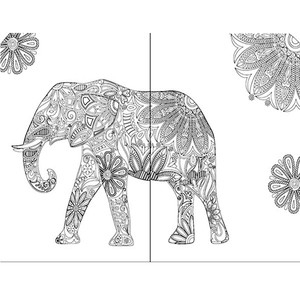 Image 4 - 274 페이지 자연 정원 일기 성인 어린이를위한 색칠하기 책 낙서 그림 그리기 비밀 정원 스타일 미술 색칠하기 책