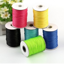 Lace-Rope Jewelry Findings Cord Crafts Velvet Round Wax Waxed for Fashion 1-Mm 15-Meters