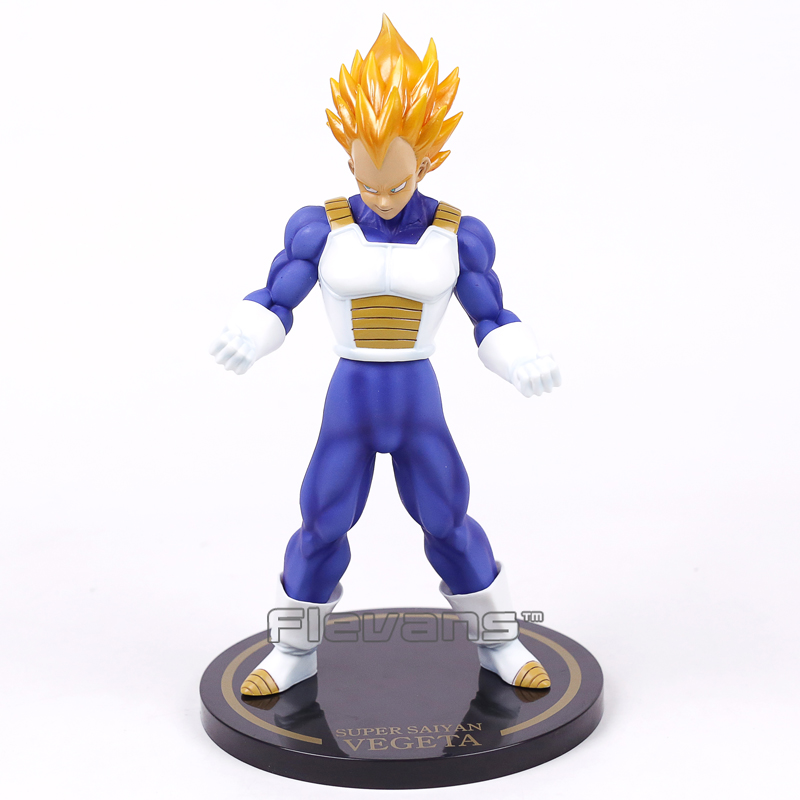Dragon Ball Z Super Saiyan Vegeta PVC Figure Collectible Model Toy with Retail Box 23cm