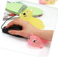 13mm Cute cartoon silicone hand pillow comfortable wrist pad free shipping