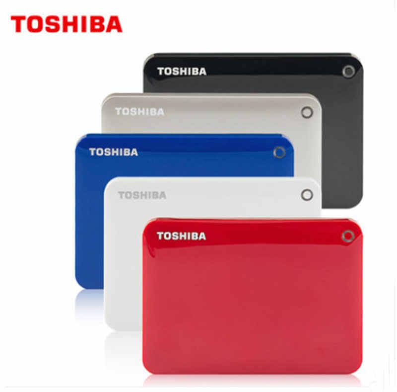 Toshiba HDD Disco Duro Externo 1 ТБ 2 ТБ 3 ТБ 4 ТБ HDD 2,5 Внешний жесткий диск 1 ТБ 3 ТБ HD 3,0 жесткий диск Портативный кабель для подключения жесткого диска