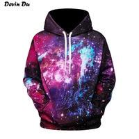 Devin Du Galaxy Hoodies Men Women Fashion 3d Sweatshirts Thin Style Hooded Hoodies Unisex Pullovers Hoody