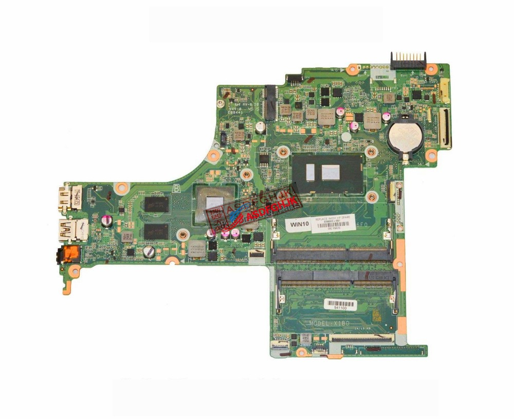 Original FOR HP 15-AN051DX Laptop Motherboard i7-6500U 2.5Ghz CPU DAX1BDMB6F0 836093-601  fully testedOriginal FOR HP 15-AN051DX Laptop Motherboard i7-6500U 2.5Ghz CPU DAX1BDMB6F0 836093-601  fully tested