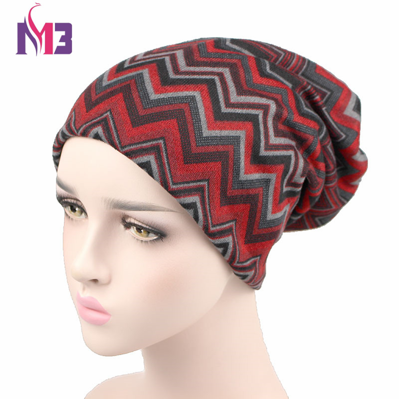 Autumn Winter Beanies Hat Unisex knitted Polyester Skullies Two Used Neck Warmer Casual Cap Striped Ski Gorros Cap autumn winter skullies beanies hat unisex couple knitted wool casual cap solid colors winter warmer print casual gorros cap
