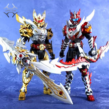 COMIC CLUB IN-STOCK AULDEY The Legend Of Armor Hero Chronicles Emperor Hero Dragon Armor evolution version action figure toy