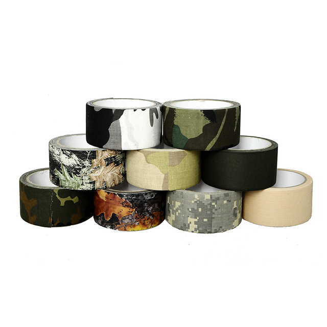 Military Camouflage1Roll 10M Multi-mission Tape Tactical Adhesive Bandage Outdoor Mountain Bike Refiting Bionic Tape  sc 1 st  AliExpress.com : tent tape - memphite.com