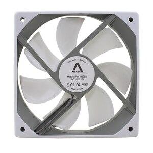 Image 3 - ALSEYE Computer Fan 120mm 12v White Fan (2pieces/lot) 64CFM High Air Flow Quiet Fan for Computer Exhaust