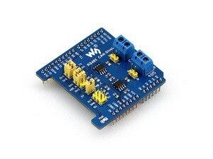 RS485 CAN Shield Designed for NUCLEO/XNUCLEO compatible with Arduino boards like Arduino UNO, Leonardo, NUCLEO, XNUCLEO music shield mp3 module for leonardo nucleo xnucleo audio play record vs1053b onboard supported mp3 aac wma wav midi formats