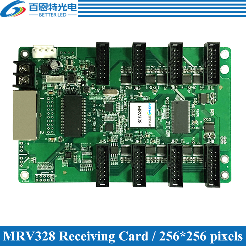 NOVASTAR MRV328 LED Displays Receiving Card, Outdoor And Indoor Full Color LED Display Controller