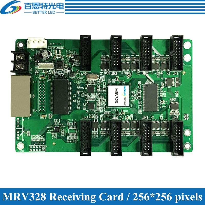 NOVASTAR MRV328 LED affiche la carte de réception, contrôleur daffichage LED polychrome extérieure et dintérieur