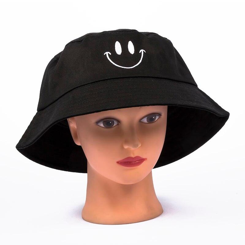 1 Pcs Neue Mode Frauen Hut Weibliche Han Version Der Flut Sonnenblende Hut Schöne Frühling Sommer Freizeit Lächelndes Fischer Hut