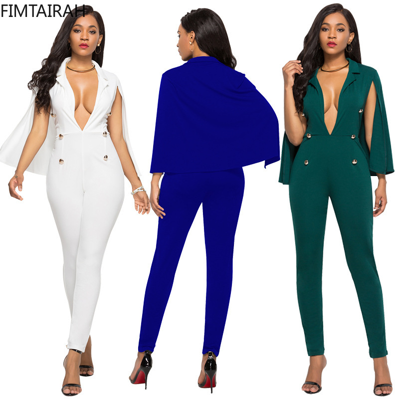 Women sets jumpsuit Fashion Plus Size Trousers women Two Piece Outfits Two Piece Set Top and Pants club outfits 2 piece set