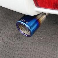 سيارة Tailpipe تعديل خمار ماسورة العادم أنبوب العادم لتويوتا هيمونيك 2700 برادو-في رؤوس العادم من السيارات والدراجات النارية على