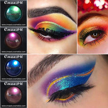 Cmaadu Shimmer Lose Lidschatten Pulver Wasserdicht Metallic Glitter Party Make-Up Paletten 3D Metallic Augen Pulver Kosmetik(China)