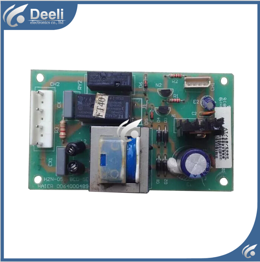 good working 95% new for refrigerator accessories 0064000489 bcd-5 e pc board power supply board motherboard 95% new for haier refrigerator computer board circuit board bcd 198k 0064000619 driver board good working