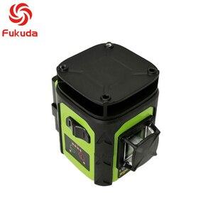 Image 4 - Fukuda 4d nível laser 16 linhas verde nível laser automático auto nivelamento 360 vertical & horizontal tilt & modo ao ar livre
