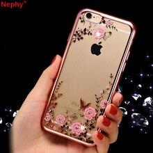 Silikon Şeffaf iPhone için kılıf 5 5 S SE iPhone 6 s iPhone 6 S iPhone 7X10 8 XS Max XR 6 Artı 6 SPlus 7 Artı 8 Artı cep telefon...