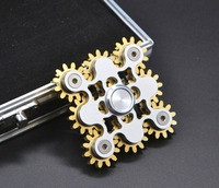 3 4 9 Gears Fidget Rąk Finger Spinner Top Gyro Zabawki EDC ADHD Metalowej Kulki Łożyska Fantastyczne Ręcznie Spinne 2017 New High jakość