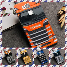TPU Patterned Blue red SCANIA Truck Silicone Phone Case For Huawei P20 Mate 10 P10 Lite P20 Pro P8 P9 Lite 2017(China)