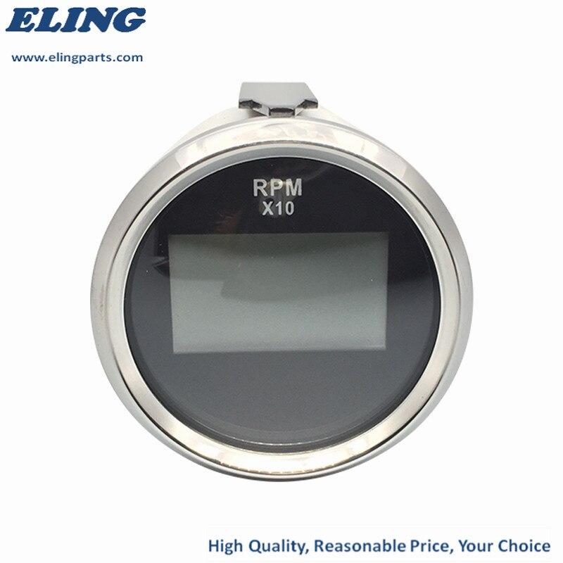 ELING Waterproof Digital Tachometer REV Counter RPM Gauge with ...