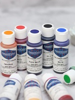9 Colors AmeriColor Oil Candy Food Coloring 56.7g(2 oz) For Butter Cheese Cake Baking