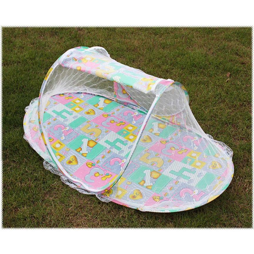 Summer Portable Folding Mosquito Mesh Net hammock tent c&ing Crib for baby Child #XTT-in Mosquito Net from Home u0026 Garden on Aliexpress.com | Alibaba Group  sc 1 st  AliExpress.com & Summer Portable Folding Mosquito Mesh Net hammock tent camping ...