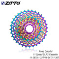 ZTTO New Road Bike11S SLR2 кассета Сверхлегкая 11-28T красочные случайные Колеса свободного хода 11-36T сталь CNC 11 скоростей K7 дорожный гравий велосипед