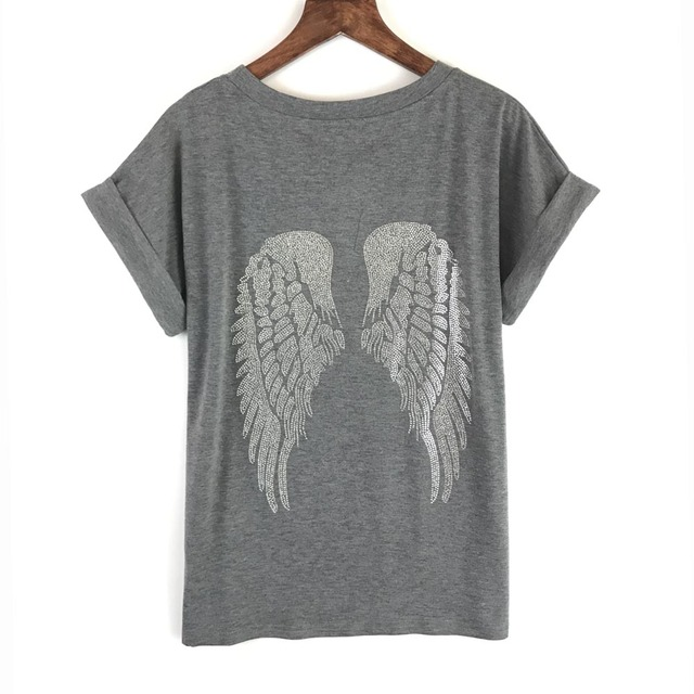 Women's Top with Angel's Wings