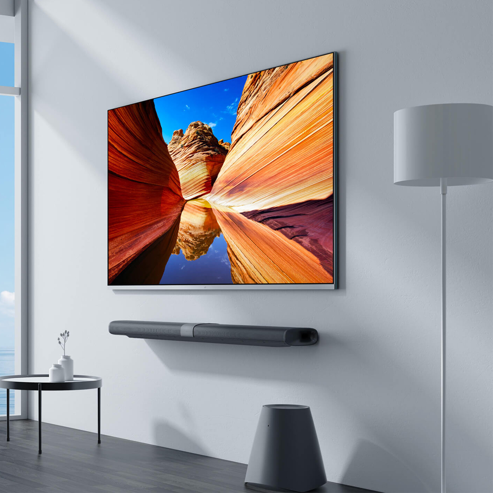 US $2278 21 12% OFF|Original Xiaomi Mi Mural TV Pad 65 Inchs 2G+32G Smart  TV Home Theater Real 4K HDR Ultra Thin Television Subwoofer DOLBY DTS TV-in