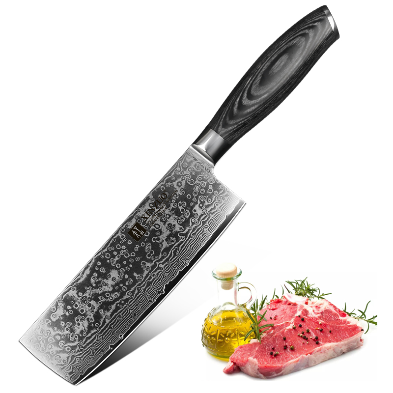 XINZUO 6 8 Chef Knife Japan VG10 Damascus Steel Nakiri Knife Kitchen CookTool Best Quality Vegetable
